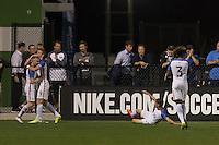 LAKEWOOD RANCH, Florida – Wednesday, November 30, 2016: The U.S. Men's National team U-17s vs Portugal. 2016 Nike International Friendlies at Premier Sports Campus.