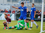18.07.18 Cove Rangers v Hearts:  Steven MacLean scores goal no 2 for Hearts and celebrates