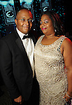 Reginald and Michelle Hedgebeth at the Ensemble Theatre's 2010 Black Tie Gala at the Hilton Americas Houston Saturday Aug. 14,2010.(Dave Rossman/For the Chronicle)