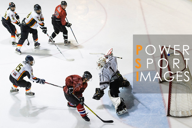 Tokyo Egoists vs Sammi's Superstars during the Mega Ice Hockey 5s on May 03, 2018 in Hong Kong, Hong Kong. Photo by Marcio Rodrigo Machado / Power Sport Images