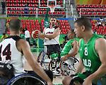 Rio 2016 - Wheelchair Basketball // Basketball en fauteuil roulant.<br /> Canada vs. Algeria in men's Wheelchair Basketball // Le Canada contre l'Algérie en basketball en fauteuil roulant masculin . 14/09/2016.