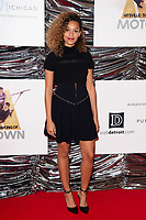 "LONDON, UK. September 23, 2019: Izzy Bizu at the ""Hitsville: The Making of Motown"" European premiere at the Odeon Leicester Square, London.<br /> Picture: Steve Vas/Featureflash"