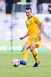 Trent Sainsbury of Australia runs with the ball during the AFC Asian Cup UAE 2019 Group B match between Australia (AUS) and Jordan (JOR) at Hazza Bin Zayed Stadium on 06 January 2019 in Al Ain, United Arab Emirates. Photo by Marcio Rodrigo Machado / Power Sport Images