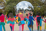 Unveiling Ceremony of the Enlightened Universe Monument in Celebration of the 70th Anniversary of th