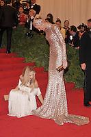 Rachel Zoe and Karolina Kurkova at the 'Schiaparelli And Prada: Impossible Conversations' Costume Institute Gala at the Metropolitan Museum of Art on May 7, 2012 in New York City. ©mpi03/MediaPunch Inc.