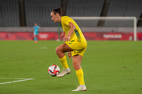 21st July 2021. Tokyo, Japan; Caitlin Foord Australia during the entee Australia and New Zealand soccer game at the 2021 Tokyo Olympic Games held in Tokyo, Japan.