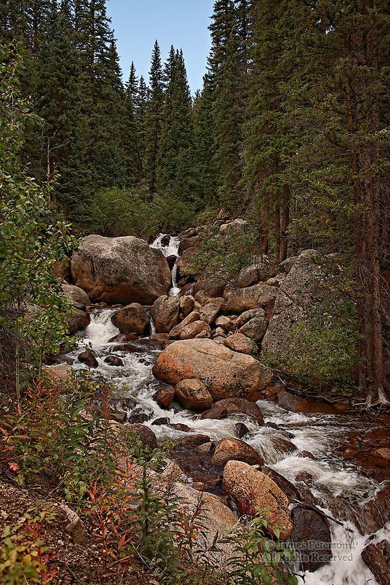 Waterfall near Webster, Colorado