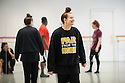 Lee Griffiths, The Company, Behind Every Man, rehearsals, The Place