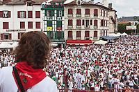 Europe/France/Aquitaine/64/Pyrénées-Atlantiques/Pays-Basque/Bayonne: Fêtes de Bayonne