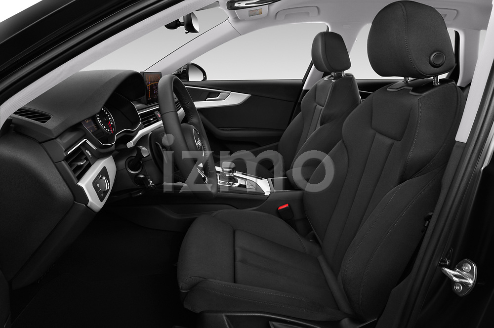 Front seat view of a 2019 Audi A4-Avant Design 5 Door Wagon front seat