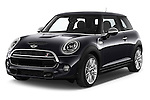 2015 MINI MINI COOPER S 3 Door Hatchback 2WD Angular Front stock photos of front three quarter view