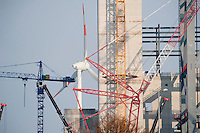 "Europa Deutschland DEU Hamburg , Neubau Vattenfall Kohlekraftwerk in Moorburg , Hintergrund Windkraftanlage Enercon E-66 auf dem Gelaende der Shell AG | <br /> Europe Germany GER Hamburg construction site coal power station of Vattenfall during winter <br /> | [ copyright (c) Joerg Boethling / agenda , Veroeffentlichung nur gegen Honorar und Belegexemplar an / publication only with royalties and copy to:  agenda PG   Rothestr. 66   Germany D-22765 Hamburg   ph. ++49 40 391 907 14   e-mail: boethling@agenda-fototext.de   www.agenda-fototext.de   Bank: Hamburger Sparkasse  BLZ 200 505 50  Kto. 1281 120 178   IBAN: DE96 2005 0550 1281 1201 78   BIC: ""HASPDEHH"" ,  WEITERE MOTIVE ZU DIESEM THEMA SIND VORHANDEN!! MORE PICTURES ON THIS SUBJECT AVAILABLE!! ] [#0,26,121#]"