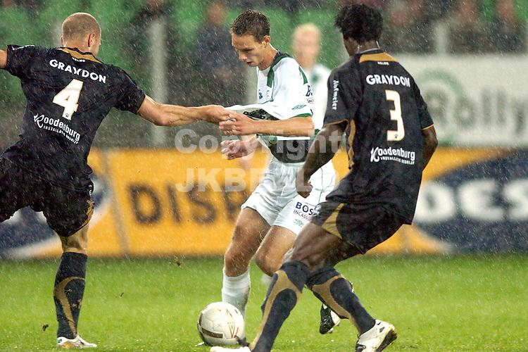 groningen - sparta  eredivisie seizoen 2007-2008 29-09- 2007 matavz met adeleye *** Local Caption ***