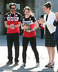 Brian McKeever, Kirsty Duncan, PyeongChang 2018. <br />