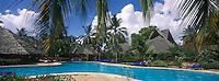 Afrique/Afrique de l'Est/Tanzanie/Zanzibar/Ile Unguja/Bwejuu: Hotel Breezes Beach Club la piscine