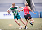 CBRE vs HSBC during Swire Touch Tournament on 03 September 2016 in King's Park Sports Ground, Hong Kong, China. Photo by Marcio Machado / Power Sport Images