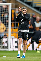 23rd May 2021; Molineux Stadium, Wolverhampton, West Midlands, England; English Premier League Football, Wolverhampton Wanderers versus Manchester United; Raúl Jiménez of Wolverhampton Wanderers applauds the fans before the game starts