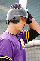 Carlos Gonzalez of the Lancaster JetHawks plays in a California League baseball game during the 2006 season in Lancaster, California. (Larry Goren/Four Seam Images)
