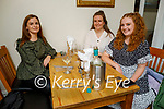 Enjoying the evening in Bella Bia  on Saturday, l to r: Aileen Murphy, Doireann O'Carroll and Deirdre Glavin.