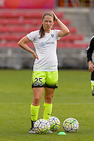 Chicago, IL - Sunday Sept. 04, 2016: Kiersten Dallstream prior to a regular season National Women's Soccer League (NWSL) match between the Chicago Red Stars and Seattle Reign FC at Toyota Park.