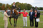 International Jumping in Chantilly France.Kevon Staut (FRA) European champion at the 3 place riding Le Prestige Saint Lois