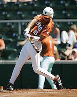 Texas Longhorns OF Jordan Danks during the 2008 season. Photo by Andrew Woolley / Four Seam Images.