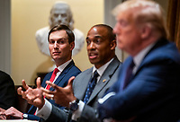 Donald Trump makes Participates in a Meeting on Opportunity Zones