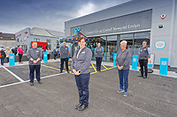 (L-R)  Andrew Francis, Dez Ovenden, store manager Nicola Mangan, Joanne Postance, Pauline Squires and Sam Bleach.