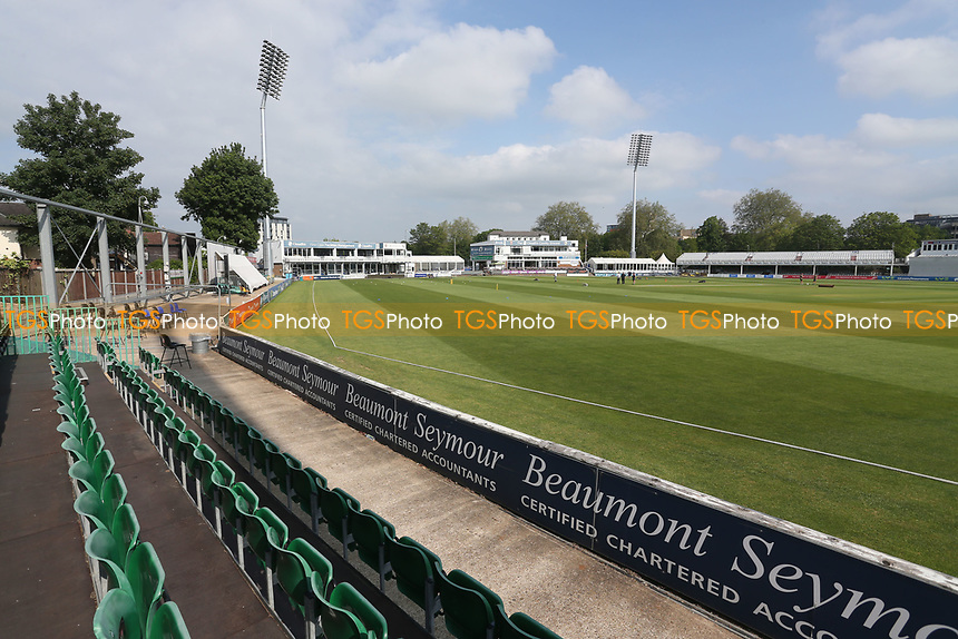 General view of the ground ahead of Essex CCC vs Nottinghamshire CCC, LV Insurance County Championship Group 1 Cricket at The Cloudfm County Ground on 3rd June 2021