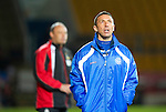 St Johnstone v Inverness Caledonian Thistle.....25.04.11.Derek McInnes looks to the heavens.Picture by Graeme Hart..Copyright Perthshire Picture Agency.Tel: 01738 623350  Mobile: 07990 594431