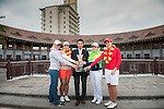 Players pose during a photocall ahead the World Ladies Championship at the Mission Hills Haikou Course on 5 March 2013 in Hainan island, China . Photo by Victor Fraile / The Power of Sport Images