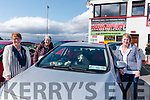 Wk 38 At the Glenbeigh/Glencar GAA Drive-in Bingo on Sunday afternoon<br /> L-R Marian Divane from Portmagee, Oonagh Connell from Valentia & Doreen O'Leary from Portmagee