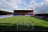 5th September 2020; Selhurst Park, London, England; Pre Season Friendly Football, Crystal Palace versus Brondby; Remote picture of a general view of the 2nd half as Brondby takes a corner inside an empty Selhurst Park due to the pandemic