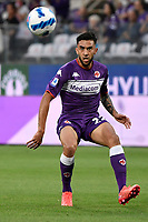 Nicolas Gonzalez of ACF Fiorentina in action during the Serie A 2021/2022 football match between ACF Fiorentina and SSC Napoli at Artemio Franchi stadium in Florence (Italy), October 3rd, 2021. Photo Andrea Staccioli / Insidefoto