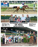DA Adios winning 2004 The Delaware Season Opener Stakes