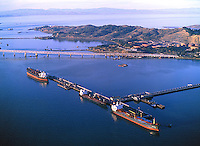aerial photograph Chevron Richmond Long Wharf, Richmond, California