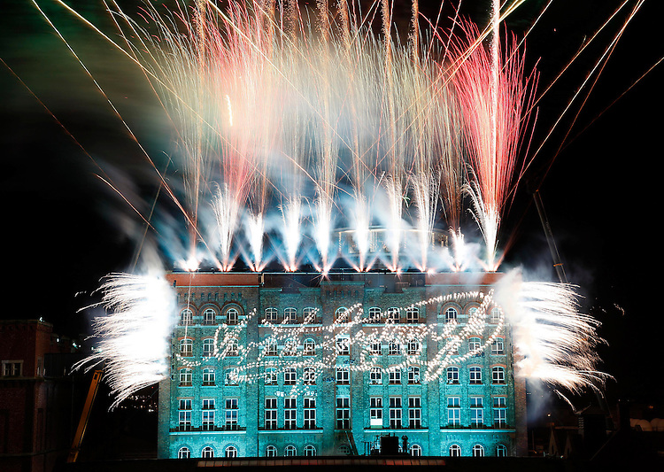 250TH ANNIVERSARY OF GUINNESS CELEBRATIONS..The Guinness Storehouse in Dublin, pictured here on New Year's Eve, as Guinness & Co signed off on a remarkable 250th anniversary year with a live broadcast on RTE.