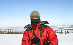 Deddeda on assignment in the remote Arctic Vuntut Gwitchin First Nation community of Old Crow, Yukon Territory, Canada.