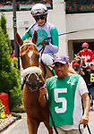 June 26,, 2021: #5 Spice Is Nice and John Velazquez in the Fluer De Lis  at Churchill Downs.  Louisville, KY on June 26, 2021.  Candice Chavez/ESW/CSM