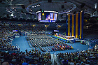 May 17, 2015; College of Arts & Letters diploma ceremony, Commencement 2015. Photo by Barbara Johnston/University of Notre Dame