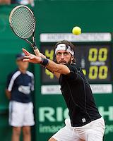Netherlands, The Hague, Juli 26, 2015, Tennis,  Sport1 Open, Nikoloz Basilashvili (GEO)<br /> Photo: Tennisimages/Henk Koster