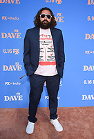 """LOS ANGELES, CA - JUNE 10: Executive Producer Mike Hertz attends the Season Two Red Carpet event for FXX's """"DAVE"""" at the Greek Theater on June 10, 2021 in Los Angeles, California. (Photo by Frank Micelotta/FXX/PictureGroup)"""