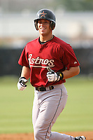 March 16th 2008:  Jon Fixler of the Houston Astros minor league system during Spring Training at Osceola County Complex in Kissimmee, FL.  Photo by:  Mike Janes/Four Seam Images
