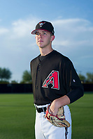 AZL Diamondbacks pitcher Matt Tabor (17) poses for a photo before a game against the AZL Padres 2 on August 29, 2017 at Salt River Fields at Talking Stick in Scottsdale, Arizona. AZL Diamondbacks defeated the AZL Padres 2 4-3. (Zachary Lucy/Four Seam Images)