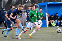Cory Vickers of the North Wellington FC during the Central League Football -  North Wellington FC v Wairarapa United at Alex Moore Park ( Alex Moore Artificial), Johnsonville, New Zealand on Saturday 29 May 2021.<br /> Copyright photo: Masanori Udagawa /  www.photosport.nz