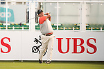 Prom Meesawat of Thailand tees off the first hole during the 58th UBS Hong Kong Open as part of the European Tour on 08 December 2016, at the Hong Kong Golf Club, Fanling, Hong Kong, China. Photo by Marcio Rodrigo Machado / Power Sport Images