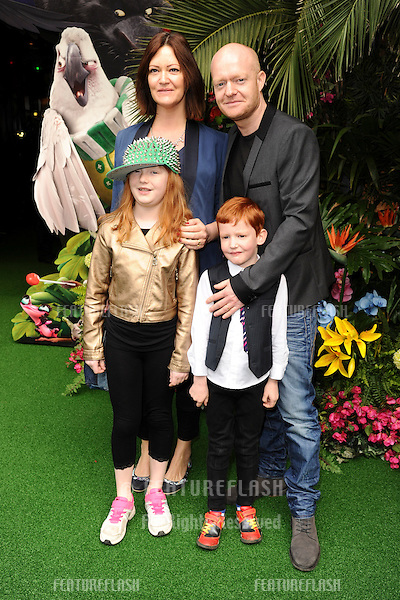 """Jacke Wood<br /> arives for the """"Rio 2"""" Screening at the Vue cinema Leicester Square, London. 30/03/2014 Picture by: Steve Vas / Featureflash"""