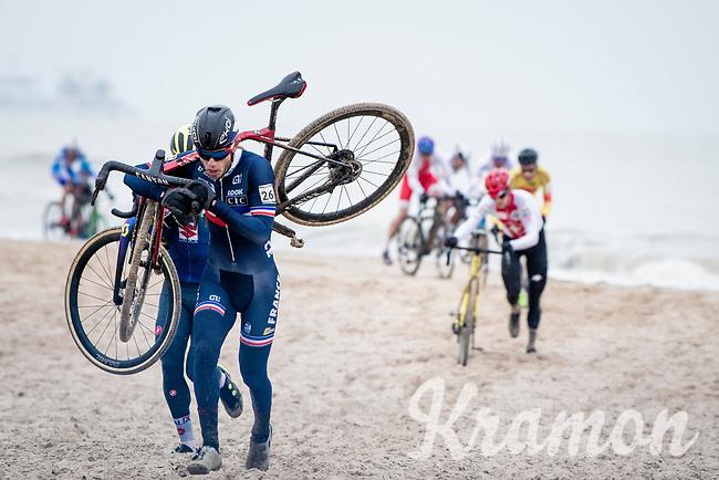 Steve Chainel (FRA)<br /> <br /> UCI 2021 Cyclocross World Championships - Ostend, Belgium<br /> <br /> Elite Men's Race<br /> <br /> ©kramon