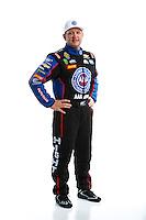 Feb 8, 2017; Pomona, CA, USA; NHRA funny car driver Robert Hight poses for a portrait during media day at Auto Club Raceway at Pomona. Mandatory Credit: Mark J. Rebilas-USA TODAY Sports