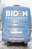 Joe Biden - Before Campaign Rally - Manchester NH - 8 Feb 2020